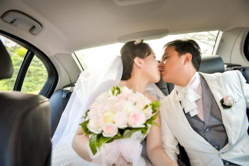 Wedding Photography - Couple in Kissing mood